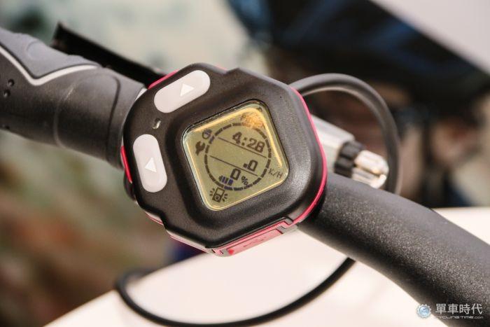 微程式新發表的電動自行車車錶
