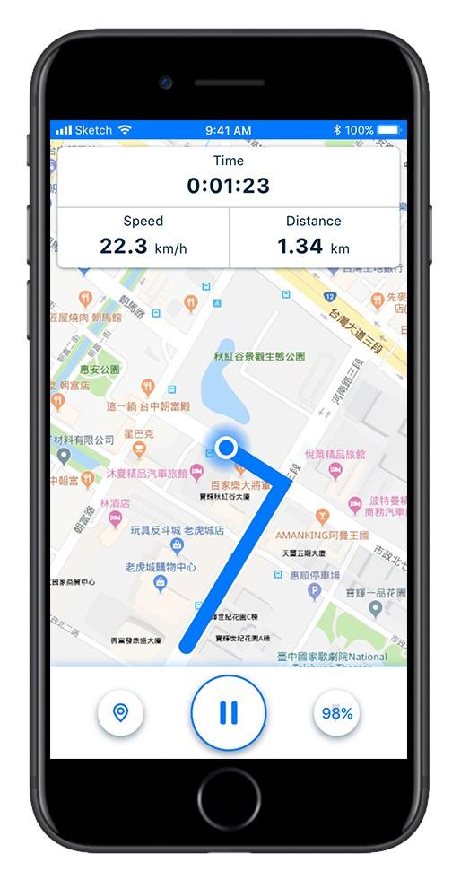 透過App,滿足車友們在騎乘前/中/後不同階段的需求