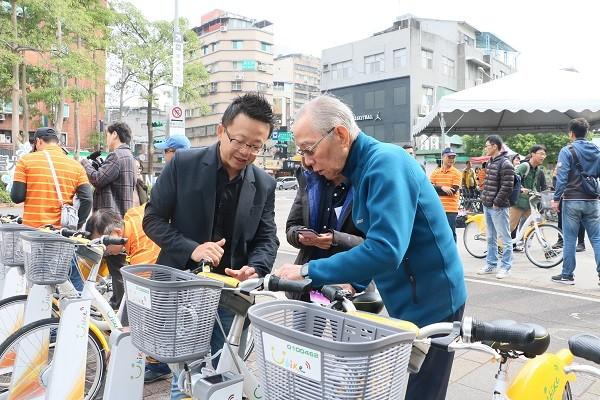 微笑單車劉董與微程式吳總